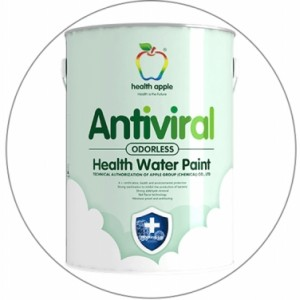 墙面潮湿发霉?苹果化工抗病毒健康净味水漆帮到你