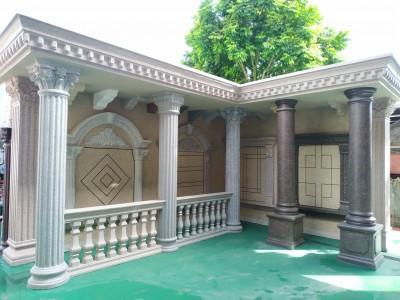 仿石漆构件