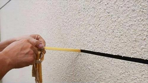 仿石漆施工中分割线有多少种你知道吗?