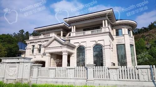 外墙仿石漆案例丨均安复古雅致的别墅