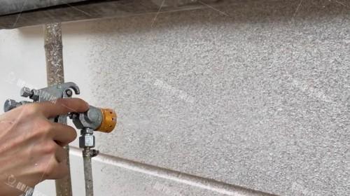 仿石漆施工过程注意事项