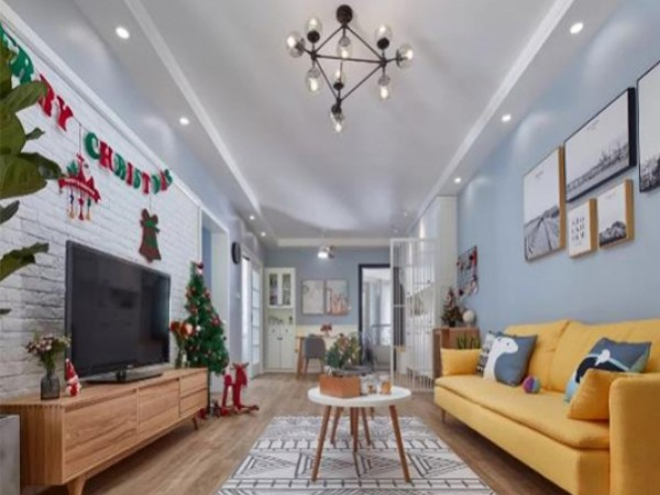 2019年圣诞艺术漆装修攻略 。