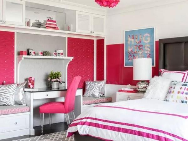 3个卧室,3个不同的装修风格