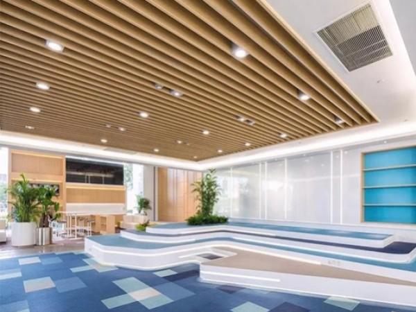 赋能工程建筑涂料,健康苹果办公楼专业配套色彩