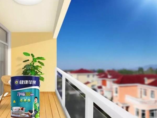 装修经验:阳台、窗台刷漆,需要关注它哪些功能?